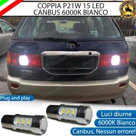 Luci Retromarcia 15 LED TOYOTA PICNIC CON LENTE FRONTALE