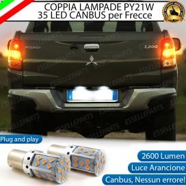 Coppia Frecce Posteriori PY21W 35 LED Canbus MITSUBISHI L200 V