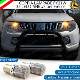 Coppia Frecce Anteriori PY21W 35 LED Canbus MITSUBISHI L200 V
