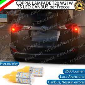 Coppia Frecce Posteriori T20 WY21W 35 LED Canbus Toyota Rav4 (MK4)
