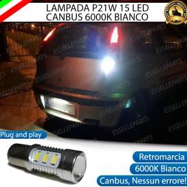 Luce Retromarcia 15 LED Fiat Punto (MK3) CON LENTE FRONTALE