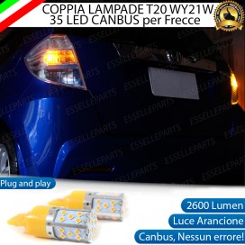 Coppia Frecce Posteriori T20 W21W 35 LED Canbus HONDA JAZZ II
