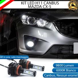 KitFull LEDFendinebbia H11 9800 LUMEN perMAZDACX-5