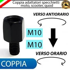 COPPIA ADATTATORI M10-M10 (ANTIORARIO-ORARIO)