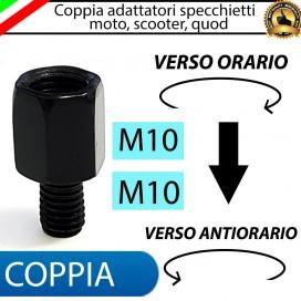 COPPIA ADATTATORI M10-M10 (ORARIO-ANTIORARIO)