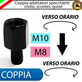 COPPIA ADATTATORI M10-M8 (ORARIO-ORARIO)