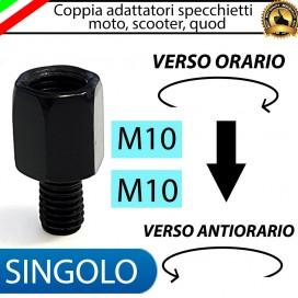 SINGOLO ADATTATORE M10-M10 (ORARIO-ANTIORARIO)