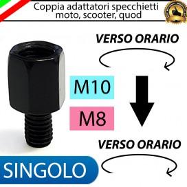 SINGOLO ADATTATORE M10-M8 (ORARIO-ORARIO)
