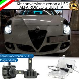KIT LED D1S CONVERSIONE DA XENON A LED 12000 LUMEN 6000K ALFA ROMEO GIULIETTA
