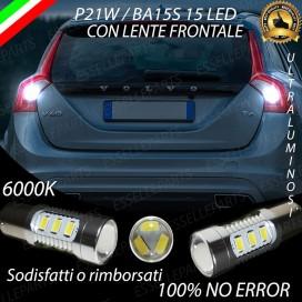 Luci Retromarcia 15 LED Volvo V60 CON LENTE FRONTALE