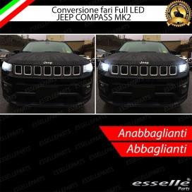 Conversione Fari Full LED per Jeep Compass II