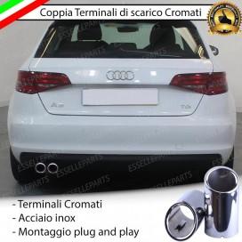 TERMINALE DI SCARICO DOPPIO AUDI A3 8V