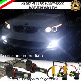 KitFull LED HB4 6400 LUMENFendinebbia BMWSERIE 6 E63 E64