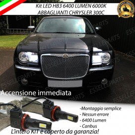 Kit Full LED HB3 6400 LUMEN Abbaglianti CHRYSLER 300C