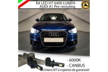 KIT FULL LED H7 Anabbaglianti AUDI A1