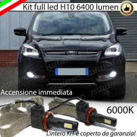 KitFull LEDFendinebbia H10 6400 LUMEN FORDKUGA II