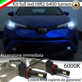 KitFull LED HIR2 6400 LUMENAnabbaglianti/AbbagliantiTOYOTAC-HR