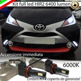 KitFull LED HIR2 6400 LUMENAnabbaglianti/AbbagliantiTOYOTAAYGO II