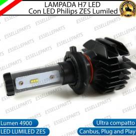 Kit Full LED Lampada H7 4900 Lumen Abbaglianti per KAWASAKI Z 750 (2007-2014) ABS