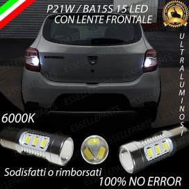 Luci Retromarcia 15 LED Dacia Sandero II CON LENTE FRONTALE