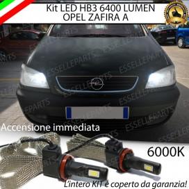 KitFull LED HB3 6400 LUMEN AbbagliantiOPELZAFIRA A