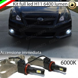 Kit Full LED Fendinebbia H11 6400 LUMEN SUBARU OUTBACK IV