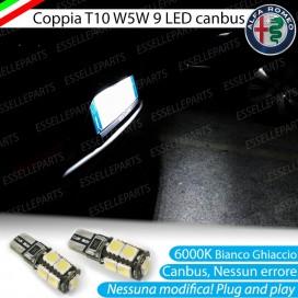 Luci targa 9 LED ALFA ROMEO 4C