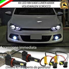 KitFull LED HB4 6400 LUMENFendinebbiaVW SCIROCCO