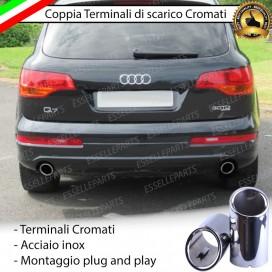 TERMINALE DI SCARICO DOPPIO AUDI Q7 4L