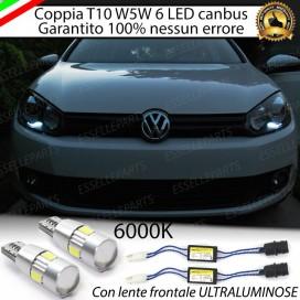 Luci posizione 6 LED Canbus