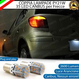 Coppia Frecce Posteriori PY21W 35 LED Canbus TOYOTA Yaris 1
