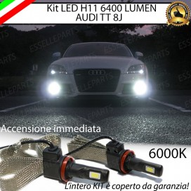 Kit Full LED Fendinebbia H11 6400 LUMEN AUDI TT 8J