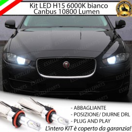 Kit LuciDiurne/Abbaglianti H15 10800 LUMENJAGUAR XE