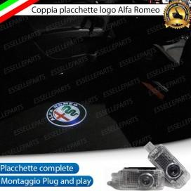Nuovi Loghi antipozzanghera LED ALFA ROMEO SPIDER