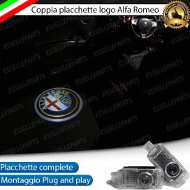 Loghi antipozzanghera LED ALFA ROMEO SPIDER
