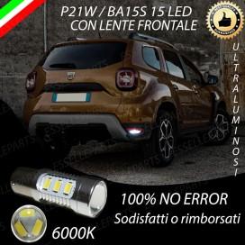 Luce Retromarcia 15 LED Dacia Duster II CON LENTE FRONTALE