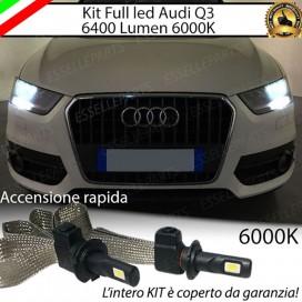 KitFull LED H7 6400 LUMEN AnabbagliantiAUDIQ3