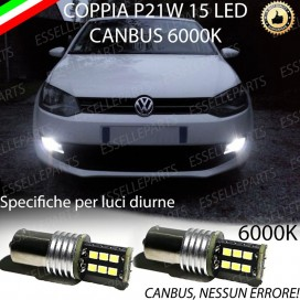 Luci Posizione 15 LED BA15S P21W