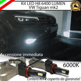 Kit Full LED H8 6400 LUMEN Fendinebbia VW TIGUAN II