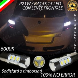 Luci Retromarcia 15 LED Renault Megane 2 CON LENTE FRONTALE
