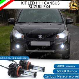KitFull LEDFendinebbia H11 9800 LUMEN perSUZUKI SX4