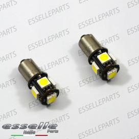 Lampada H6W 5 LED Canbus 6000k