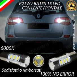 Luci Retromarcia 15 LED Renault Koleos CON LENTE FRONTALE