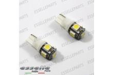 Lampada T10 5 LED W5W 6000k