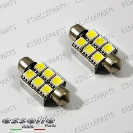 SILURO 6 LED Canbus 36mm