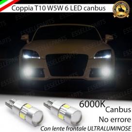 Luci posizione 6 LED Canbus 400 Lumen (per versioni con faro alogeno)