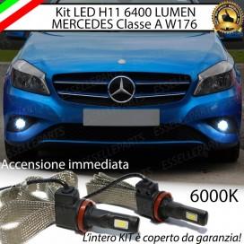KitFull LEDFendinebbia H11 6400 LUMENMERCEDESCLASSE A W176