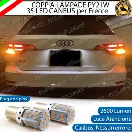 Coppia Frecce Posteriori PY21W 35 LED Canbus AUDI A4 B9