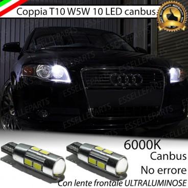 Luci posizione 10 LED Canbus 660 Lumen AUDI A4