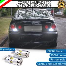 Luci Retromarcia a LED CANBUS 3.0 T20 W21W per LEXUS IS I